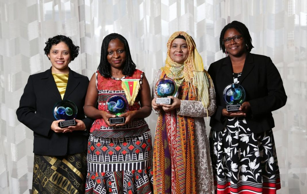 2020 OWSD-Elsevier Structure Awards for Early-Career Women Researchers in the Establishing World