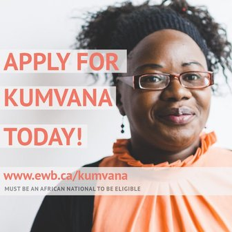 Engineers Without Border (EWB's) Kumvana Fellowship 2019/2020 for African social business owners (Completely Moneyed to Canada)