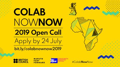 British Council Southern Africa Arts ColabNowNow 2019 for young digital creatives– (Completely Moneyed to Maputo, Mozambique and Johannesburg, South Africa)