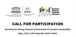 2019 UNESCO's Workshop on Indicators of Details Conservation Sustainability– Dakar, Senegal( Financing Available)