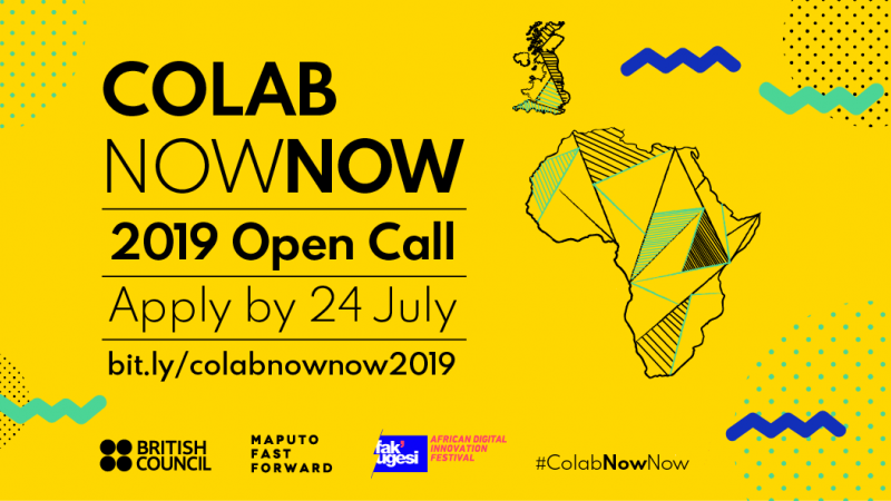 British Council ColabNowNow 2019 for Young Digital Creatives (Fully-funded)