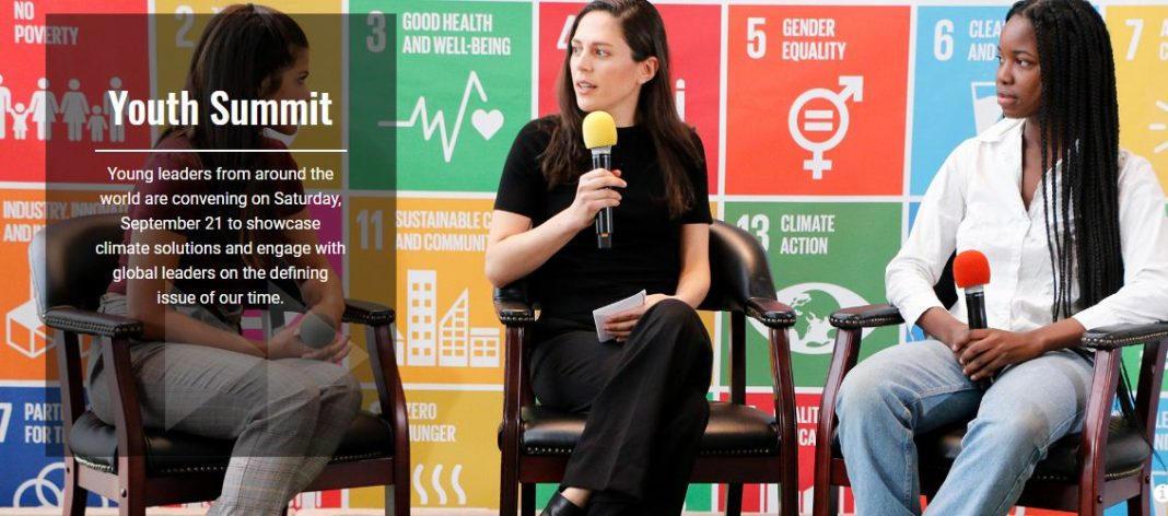 United Nations Youth Environment Top 2019 at the UN Head Office in New York City