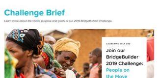 GHR/OpenIDEO BridgeBuilder Problem 2019 for Change Brokers Worldwide (US$1 Million in Funding)