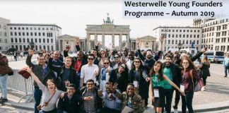 Westerwelle Young Creators Program Fall 2019 for Young Business Owners (Totally Moneyed to Berlin, Germany)