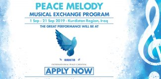 MESPO Peace Tune Exchange Program 2019 for Young Musicians and Singers around the world (Fully-funded)