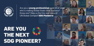 Apply to end up being a United Nations Global Compact Sustainable Advancement Goals (SDGs) Leader 2019