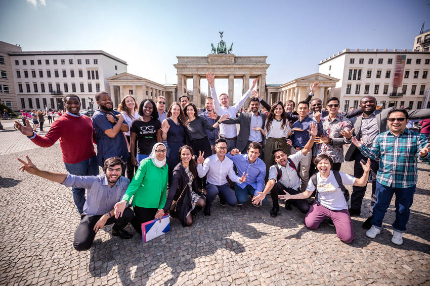 Westerwelle Young Creators Program– Fall 2019 (Fully-funded to Berlin, Germany)
