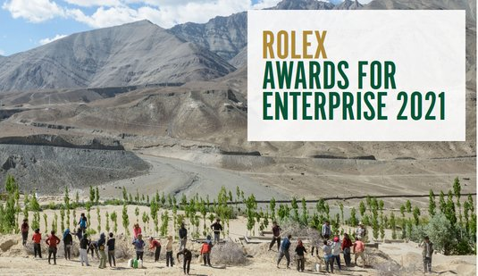 Rolex Awards Business 2021 for young Leaders Worldwide (200,000 Swiss francs per Recipient)