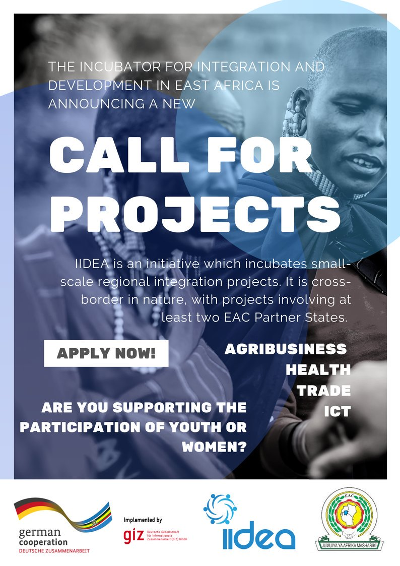The Incubator for Combination and Advancement in East Africa (IIDEA) Require Jobs
