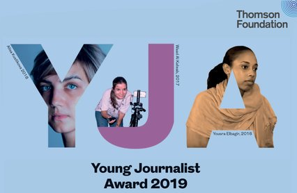 Thomson Structure Young Reporter Award 2019 for Reporters around the world (Completely Moneyed to London)