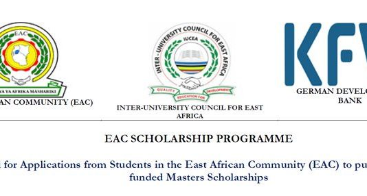 East African Neighborhood (EAC) Scholarship Program 2019 for Masters Research Studies