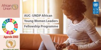 AUC-UNDP African Young Women Leaders Fellowship Program 2019 (Fully-funded)