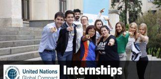 UN Global Compact Internship Program– Fall 2019 in New York City, U.S.A.