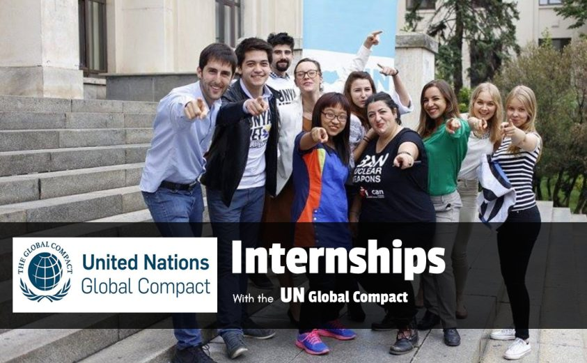 UN Global Compact Internship Program– Fall 2019 in New York City, U.S.A.