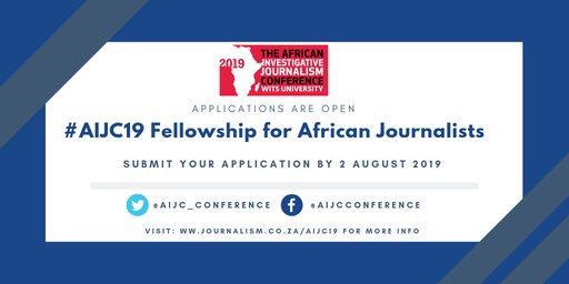 African Investigative Journalism Conference 2019 Bursary for African Reporters to participate in AIJC 2019 in Johannesburg, South Africa (Completely Moneyed)