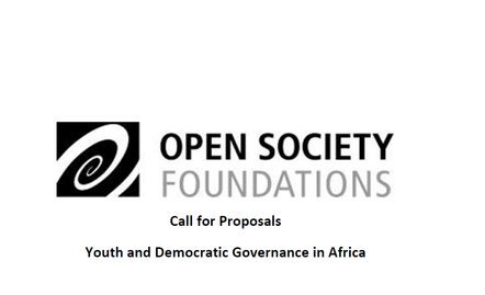 The Africa Regional Workplace of Open Society Structures (AfRO) Require Propositions Youth and Democratic Governance in Africa.