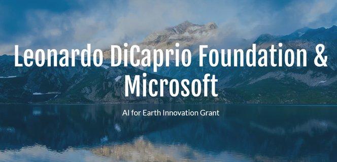 DiCaprio Foundation/Microsoft 2019 AI for Earth Development Grant