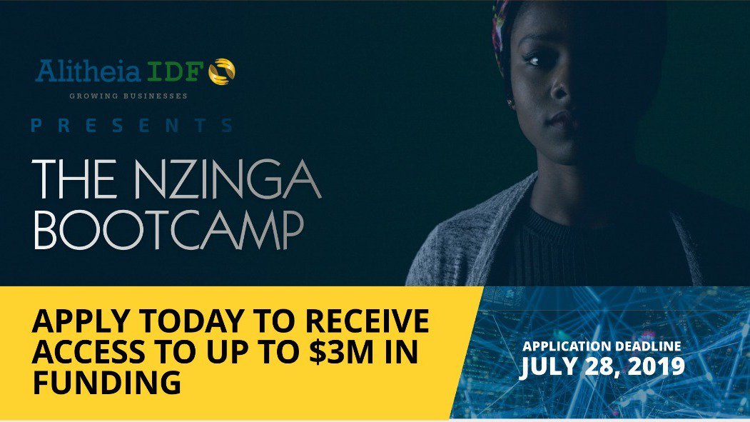 The Nzinga Scale-Up Bootcamp 2019 for young African Business owners