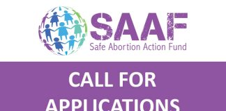 Safe Abortion Action Fund 2019 Round 5 Financing for Resident and Grassroots Organizations (As Much As $80,000 grant)