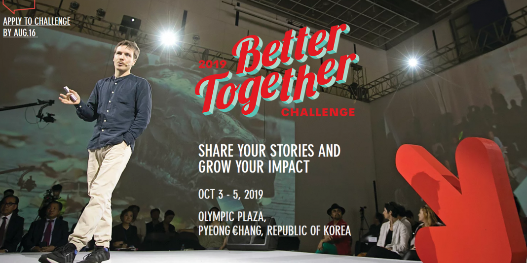 Much Better Together Obstacle 2019 for young Changemakers & & Social Innovators (Completely Moneyed to South Korea)