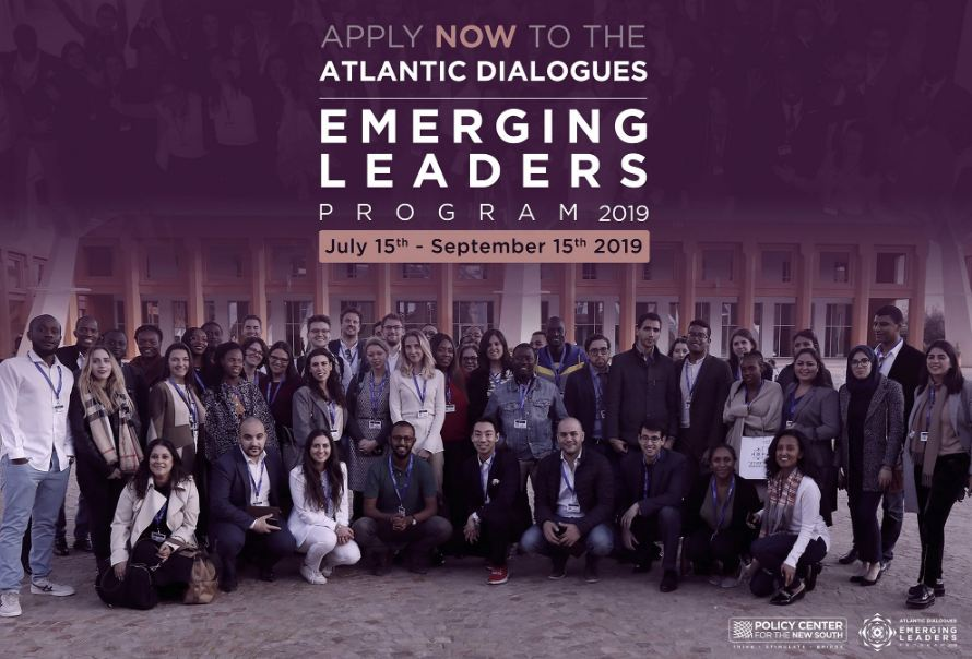 Atlantic Dialogues Emerging Leaders Program 2019– Marrakesh, Morocco (Fully-funded)