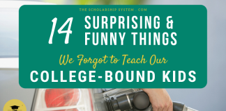 14 Unexpected (and Amusing) Things We Forgot to Teach Our College-Bound Children