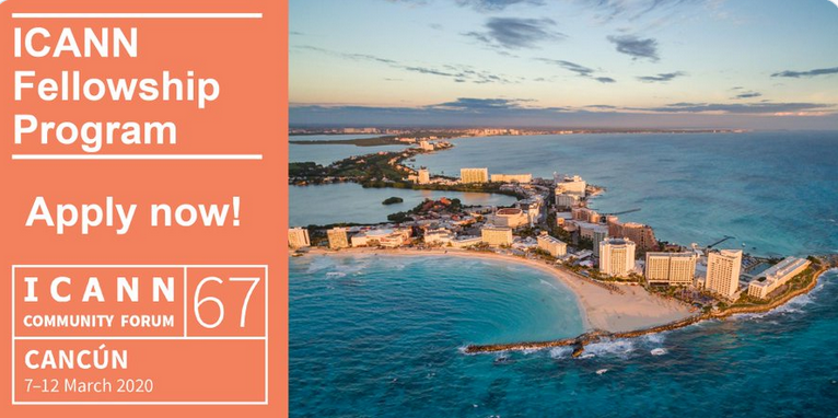 ICANN67 Fellowship Program 2020 (Completely Moneyed to participate in the ICANN67 Public Fulfilling in Cancún, Mexico)
