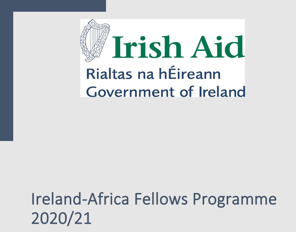 Ireland-Africa Fellows Program 2020/2021 for young Africans