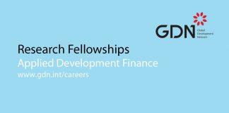 EIB-GDN Program in Applied Advancement Financing 2019/2020