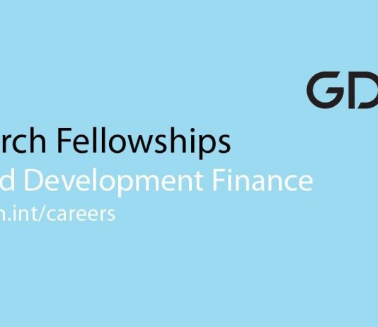 EIB-GDN Program in Applied Advancement Financing 2019/2020