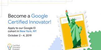 Google for Education Licensed Innovator Program 2019