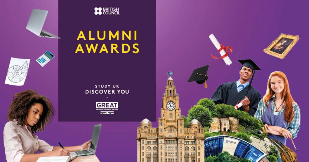 British Council Research Study UK Alumni Awards 2019/2020