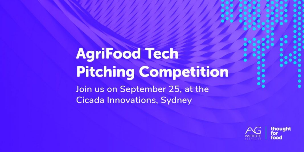 Idea for Food/Ag Institute Australia's AgriFood Tech Pitching Competitors 2019 for Start-ups in Oceania