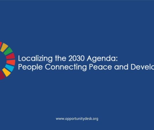 International Peace Institute/UN Human being Security System's 2019 Localizing the 2030 Program Online Forum (Fully-funded to Banjul, The Gambia)