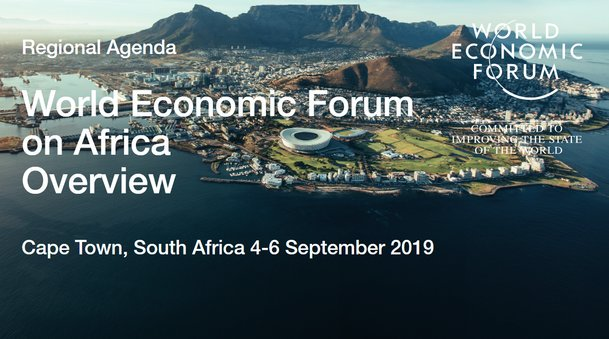 World Economic Online Forum on Africa 2019 Start-ups program– Cape Town, South Africa.