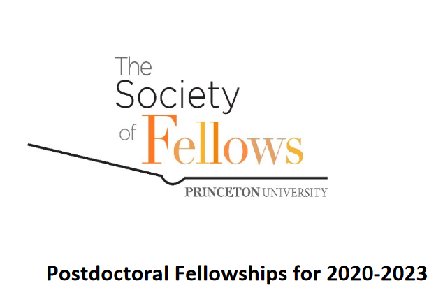 Princeton University Postdoctoral 2020/2023 Fellowship for scholars ($ USD 88,000+ in stipends)
