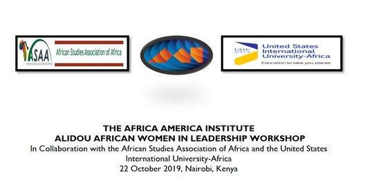 The Africa America Institute Alidou African Women in Management Workshop 2019– Nairobi, Kenya