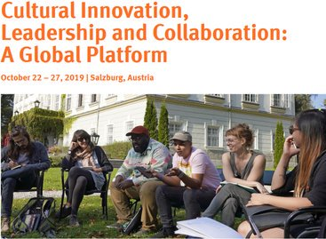 Salzburg Global Online Forum 2020 for young Cultural innovators (Moneyed to Salzburg, Austria)
