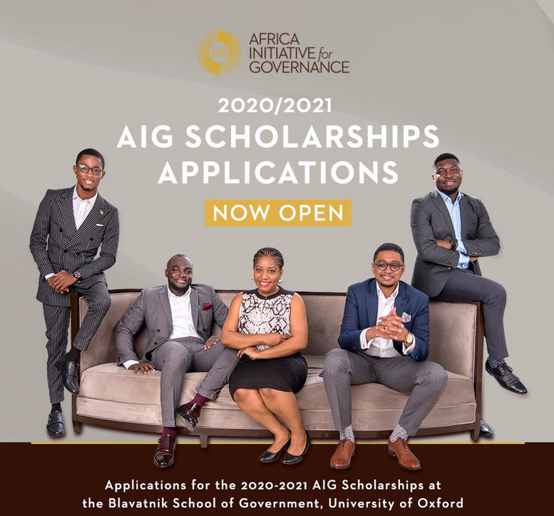 Africa Effort for Governance (AIG) Scholarships 2020/2021 for Research Study in the University of Oxford, UK (Completely Moneyed)