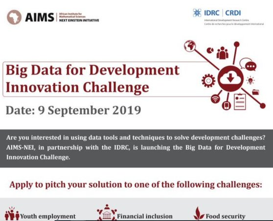 AIMS-NEI Big Data for Advancement Development Obstacle 2019 (Seed financing grants of as much as USD 10,000)