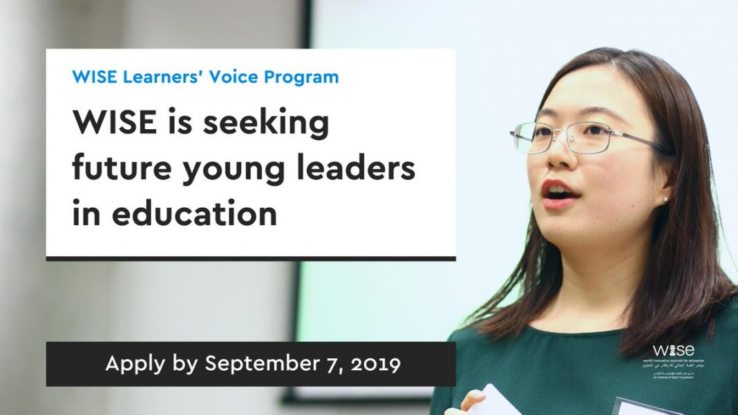 SMART Students' Voice Program 2019/2020 for Future Young Leaders (Completely Moneyed to Doha, Qatar)