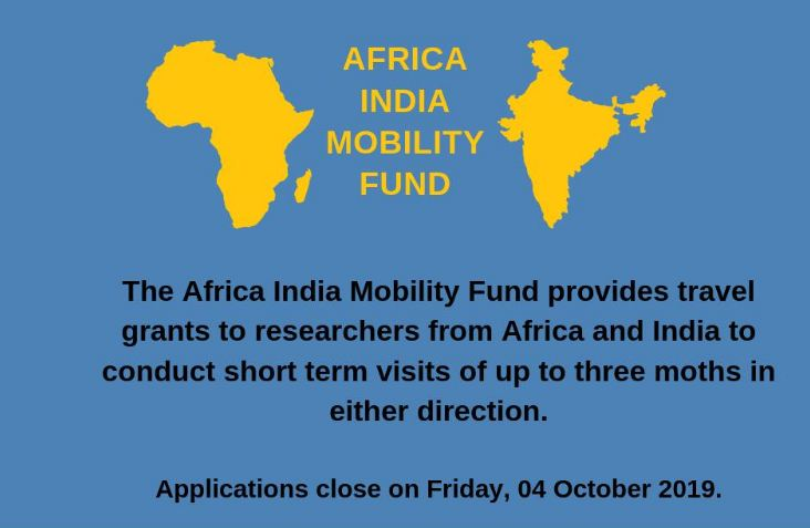 African Academy of Sciences (AAS) Africa India Movement Fund 2019