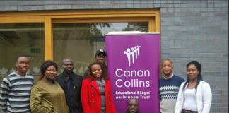 Canon Collins Scholarships for Postgraduate Research Study in South Africa 2020