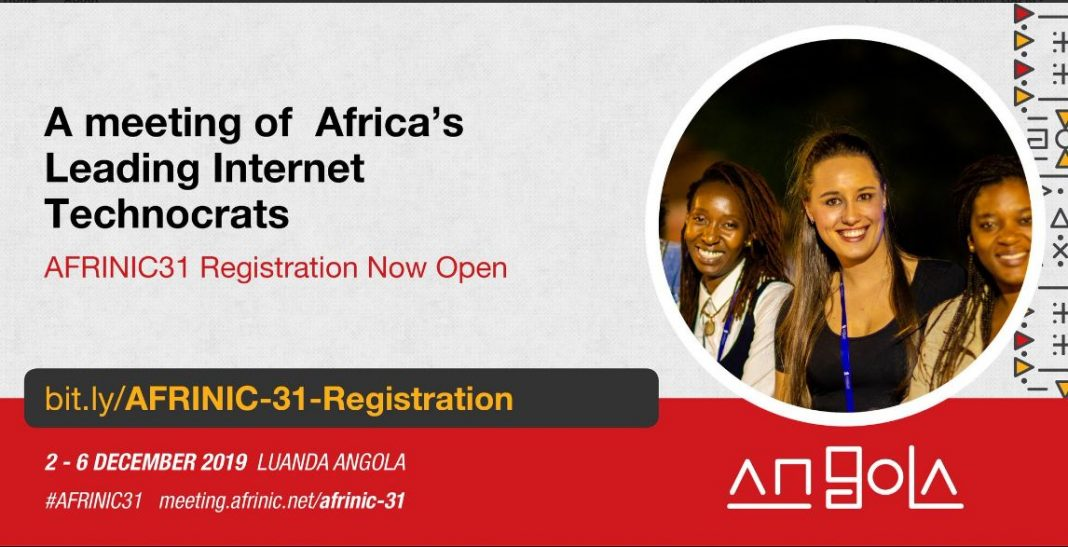 AFRINIC Fellowship to participate in AFRINIC-31 Satisfying in Luanda, Angola (Fully-funded)