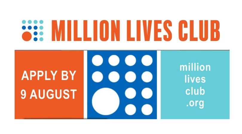 Apply to End Up Being a Member of the Million Lives Club (Friend One)
