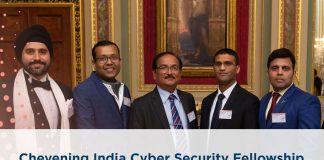 Chevening India Cyber Security Fellowship 2020/2021 for Mid-career Experts (Fully-funded)
