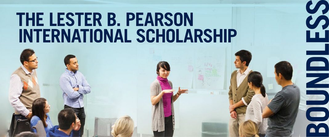 Lester B. Pearson International Scholarship Program 2020/2021 for research study at the University of Toronto, Canada (Completely Moneyed)