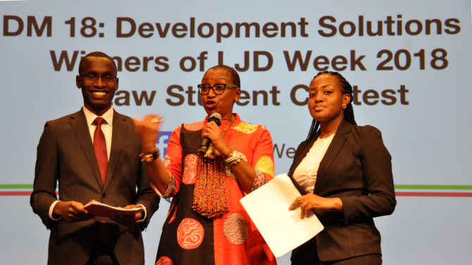 LJD Week 2019 Law Trainee Contest for Advancement Solutions (Win moneyed journey to World Bank HQ in Washington, DC)