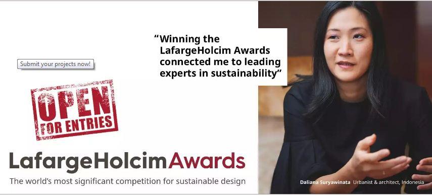 LafargeHolcim Awards Competitors 2019/2020(USD $2,000,000 Cash prize)