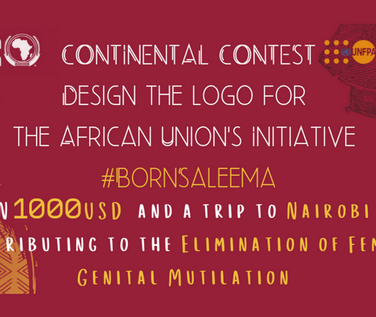 African Union Saleema Effort Logo Design Competitors 2019 on Removal of Female Genital Mutilation (1000 USD reward & & Completely Moneyed to Nairobi, Kenya)